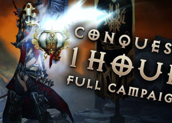 Sprinter Conquest: Full Campaign in 1 hour (Diablo 3 Reaper of Souls Livestream)