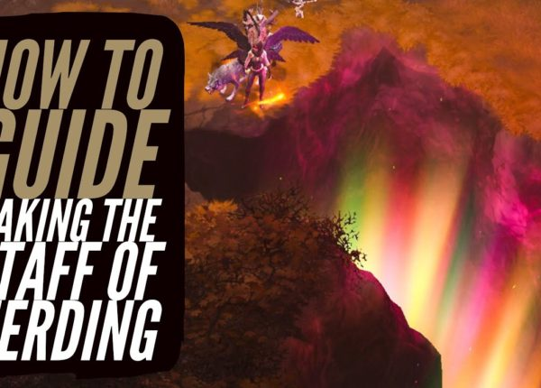 Diablo 3 - How To Make The Staff of Herding