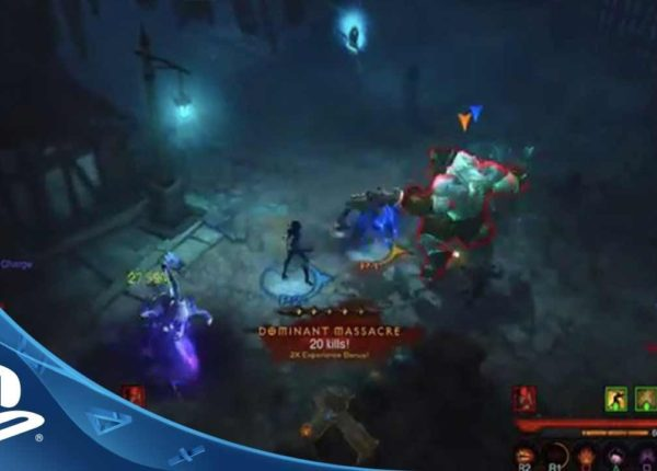 PlayStation E3 2014 | Diablo III: Reaper of Souls - Ultimate Evil Edition | Live Coverage (PS4)