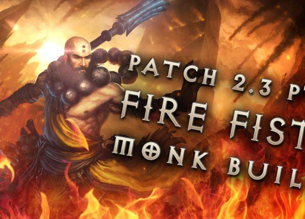 """2.3 Monk Build """"Fists of Fire"""" - Diablo 3 Reaper of Souls PTR"""