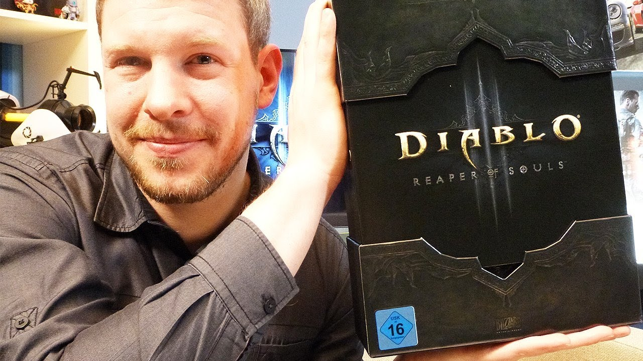 Diablo 3: Reaper of Souls - Unboxing: Boxenstopp zur Collector's Edition