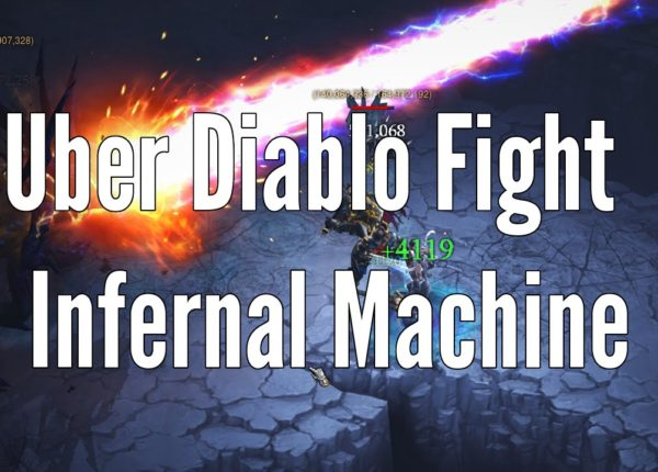 Uber Diablo Infernal Machine Boss Fight - Diablo 3, Reaper of Souls