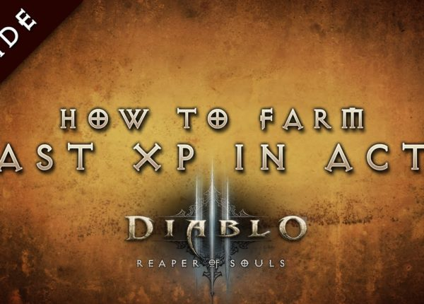 Diablo 3: Reaper of Souls Fast Leveling Guide, 60-70 in under 2 hours, Royal Audience run