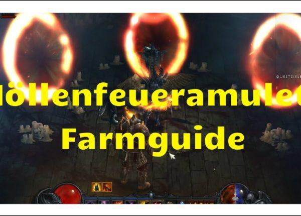 Diablo 3: Höllenfeueramulett Farmguide (neue Qualstufen, Update)