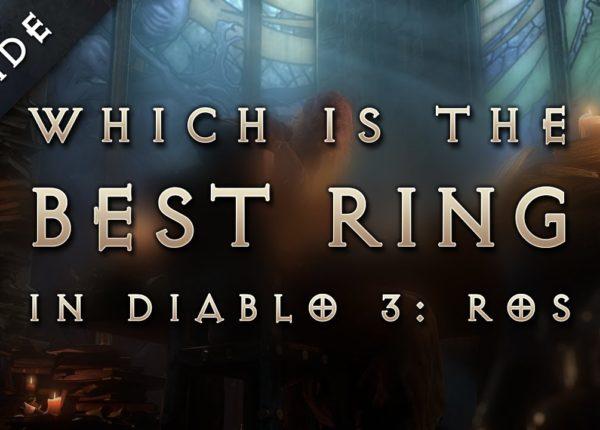 Diablo 3: Reaper of Souls - Best Legendary & Set Items (Ring)