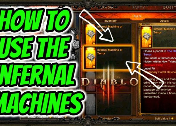 Diablo 3 | How To Use The Infernal Machines