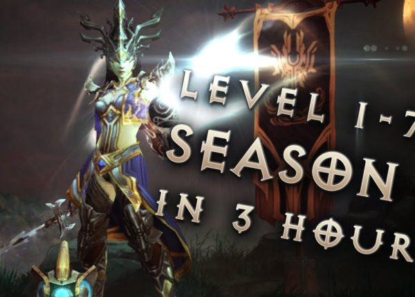 Season 5 1-70 in 3 hours: Diablo 3: Reaper of Souls Livestream Fast Leveling