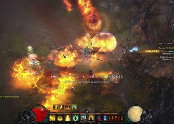 Diablo III Reaper of Souls — F&F BETA: adventure mode [I act full]