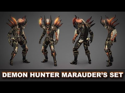 Diablo 3 RoS: The Marauder's Legendary Set (Demon Hunter) - Why It's So Good & How to Get It!