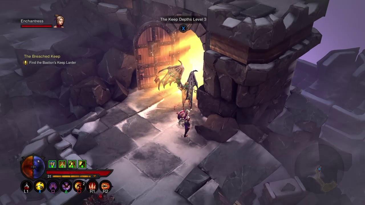 Diablo III-Reaper of Souls(Demon Hunter Gameplay)(Part 16-The Breached Keep)