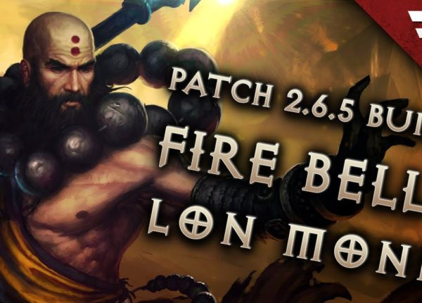 Diablo 3 Season 20 Monk LoN WoL Wave of Light build guide - Patch 2.6.8 (Torment 16)