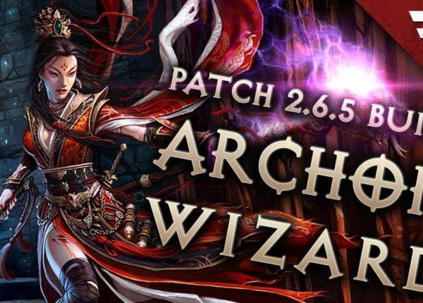 Diablo 3 Season 20 Wizard Vyr Chantodo Archon build guide - Patch 2.6.8 (Torment 16)