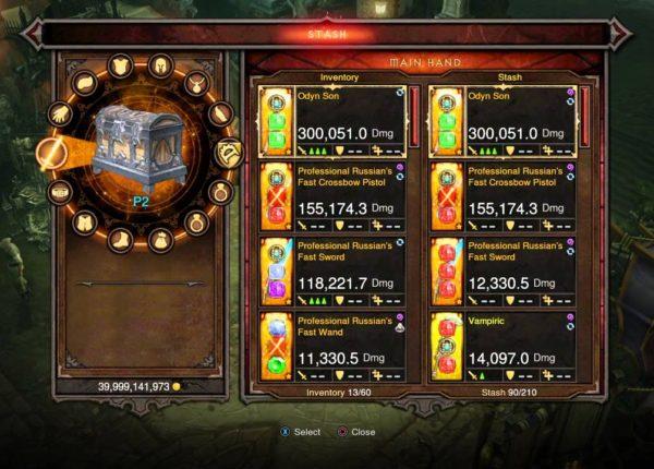 Diablo III: Reaper of Souls ps4 how to duplicate items