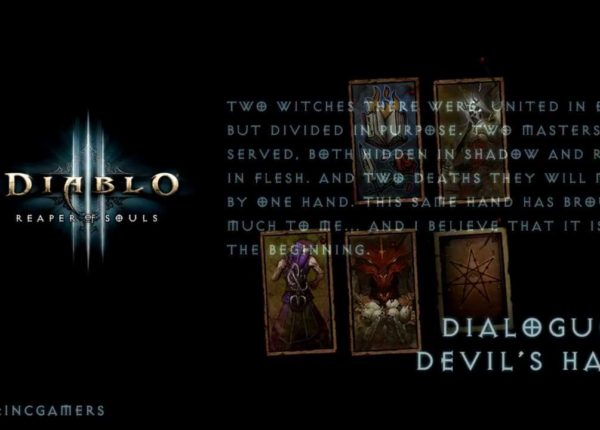 Diablo 3 Reaper of Souls - Devil's Hand Dialogue (Spoiler)