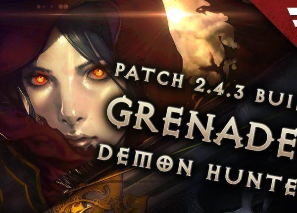 2.6.6 Demon Hunter Unhallowed Grenades Build - Diablo 3 Reaper of Souls (Season 18)