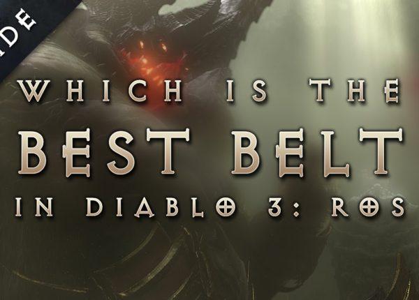 Diablo 3: Reaper of Souls - Best Legendary & Set Items (Belt)