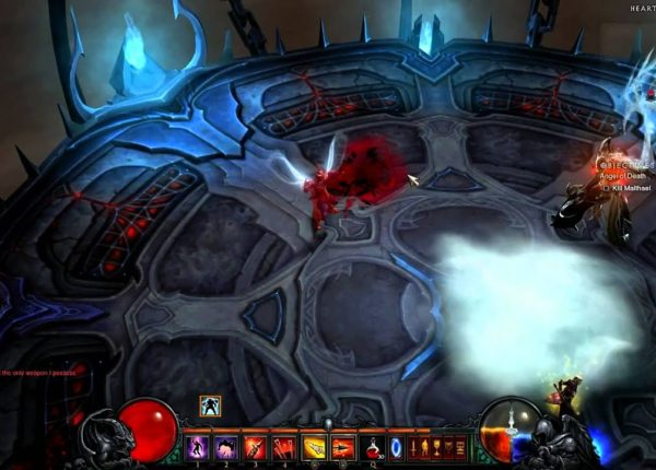 Diablo 3 Reaper of Souls Act V Malthael Final Boss