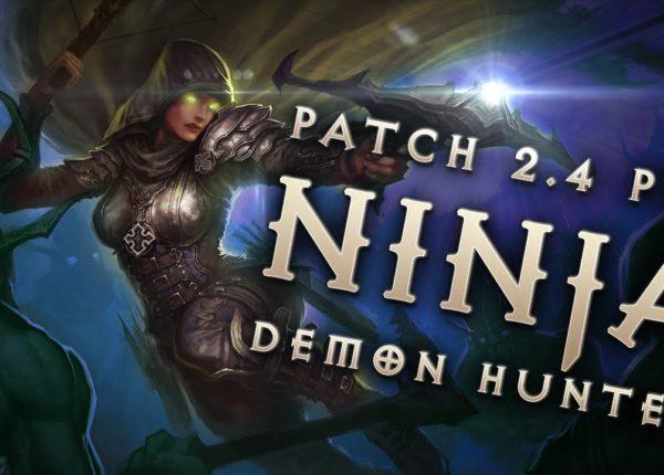 "2.4 Demon Hunter ""Ninja"" Shadow's Mantle Build - Diablo 3 Reaper of Souls PTR"