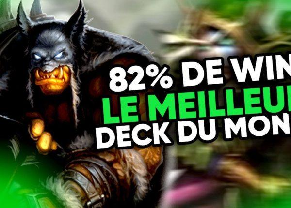 82% Winrate jusqu'au rang LÉGENDE ! | LE MEILLEUR DECK DU MONDE | Hearthstone