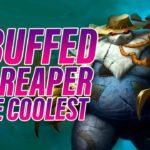 A Buffed Foe Reaper is the Coolest | Dogdog Hearthstone Battlegrounds
