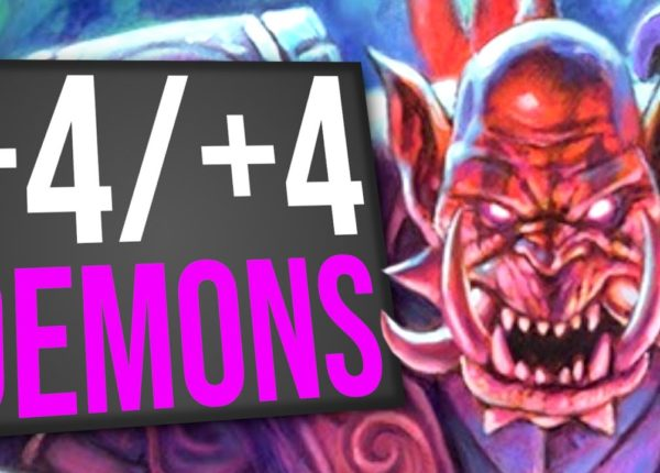 A Hand Full of +4/+4 Demons! - Handlock | Standard | Hearthstone