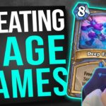 BEST MAGE DECK ON THE LADDER | Hearthstone Ashes of Outland