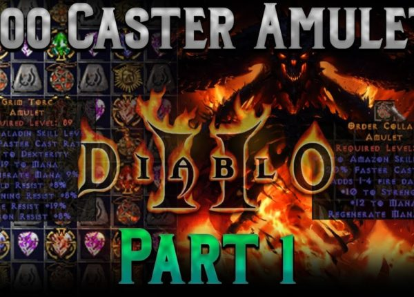 Crafting 1000 Caster Amulets!! Diablo 2 - Part 1