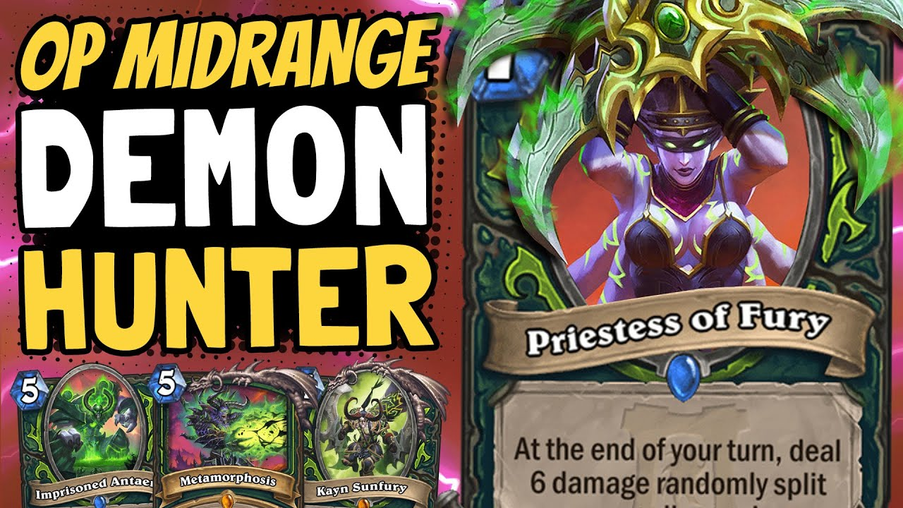 DESTROYING THE META! This Demon Hunter Deck is BROKEN! | Ashes of Outland | Hearthstone