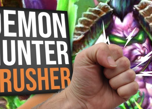 Demon Hunter CRUSHER!! | Standard | Hearthstone