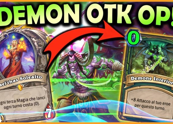 Demon OTK Hunter, schifosamente OP! | Hearthstone Ita