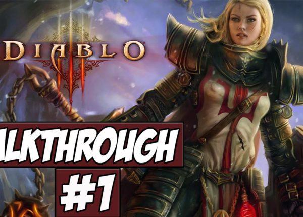 Diablo 3 Walkthrough Ep.1 w/Angel - Feel My Wrath!