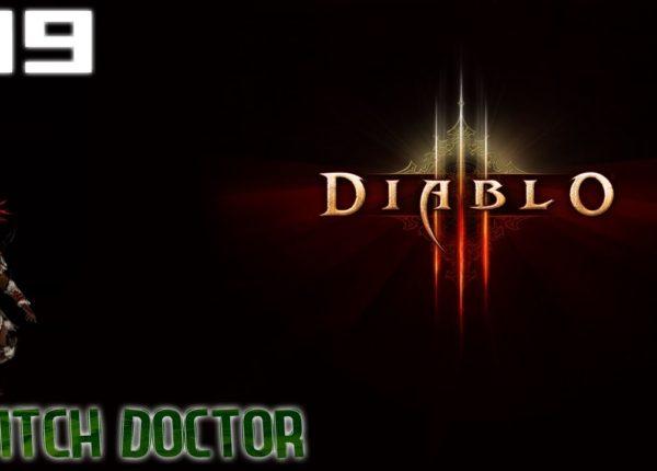 Diablo 3 - Witch Doctor Walkthrough Part 19 - [Boss] The Butcher
