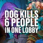Dog Accidentally Power Levels and Kills 6 People | Dogdog Hearthstone Battlegrounds