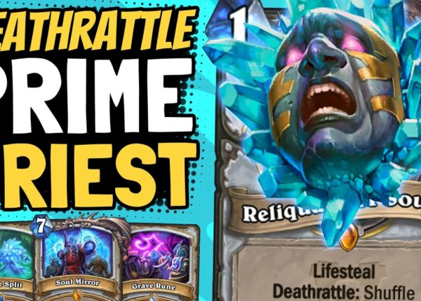 ENDLESS PRIMES!! Reliquary Deathrattle Priest May Be Our Only Hope! | Ashes of Outland | Hearthstone