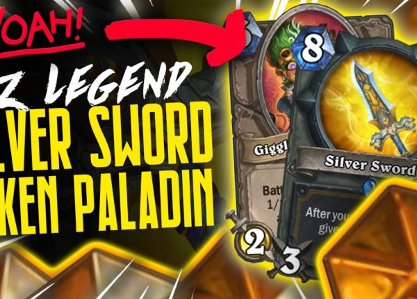 EZ Legend w/ Silver Sword Token Highlander Paladin | 66% Winrate | Hearthstone