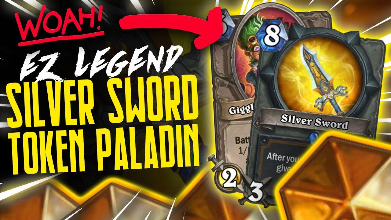 EZ Legend w/ Silver Sword Token Highlander Paladin   66% Winrate   Hearthstone
