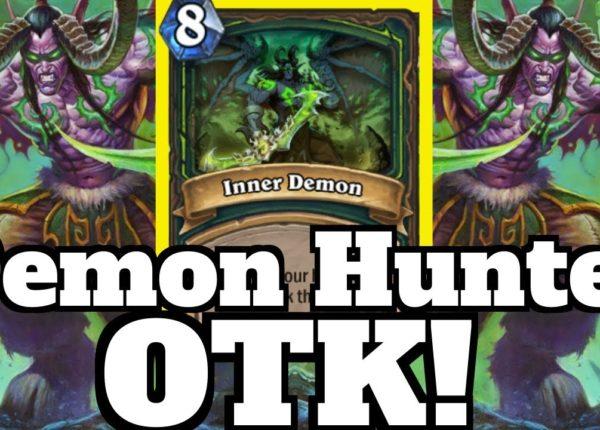 FIRST Demon Hunter OTK! Illidan is HERE! | Hearthstone