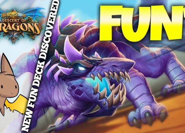FUN DECK ALERT - Trash Dragon Warlock | Firebat Hearthstone