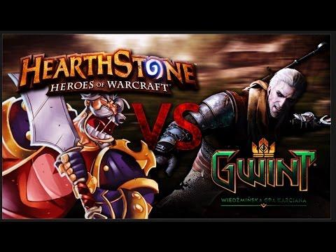 Gwint vs HearthStone