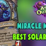 HEARTHSTONE DECK #325: MIRACLE MAGE | ashes of outland