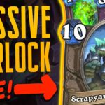 HUGE WARLOCK is UNDERRATED - Ashes of Outland - Hearthstone