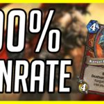 (Hearthstone) 100% Winrate Warrior Deck (4-0) | Control Warrior | (Ashes of Outland)