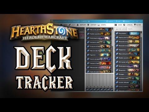 Hearthstone Deck Tracker : utilitaire pour importer et gérer vos decks