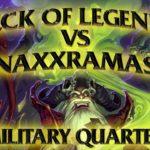 Hearthstone: Deck of Legends vs Naxxramas Military Quarter