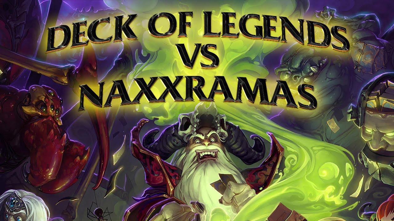 Hearthstone: Deck of Legends vs Naxxramas