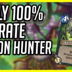(Hearthstone) Early 100% Winrate Demon Hunter   Aggro Demon Hunter   Ashes of Outlands