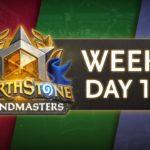Hearthstone Grandmasters 2020 Season 1 - Week 2 Day 1