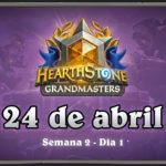 Hearthstone Grandmasters Americas | Temporada 1 Semana 2 Dia 1