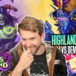 (Hearthstone) Highlander Priest VS Demon Hunter