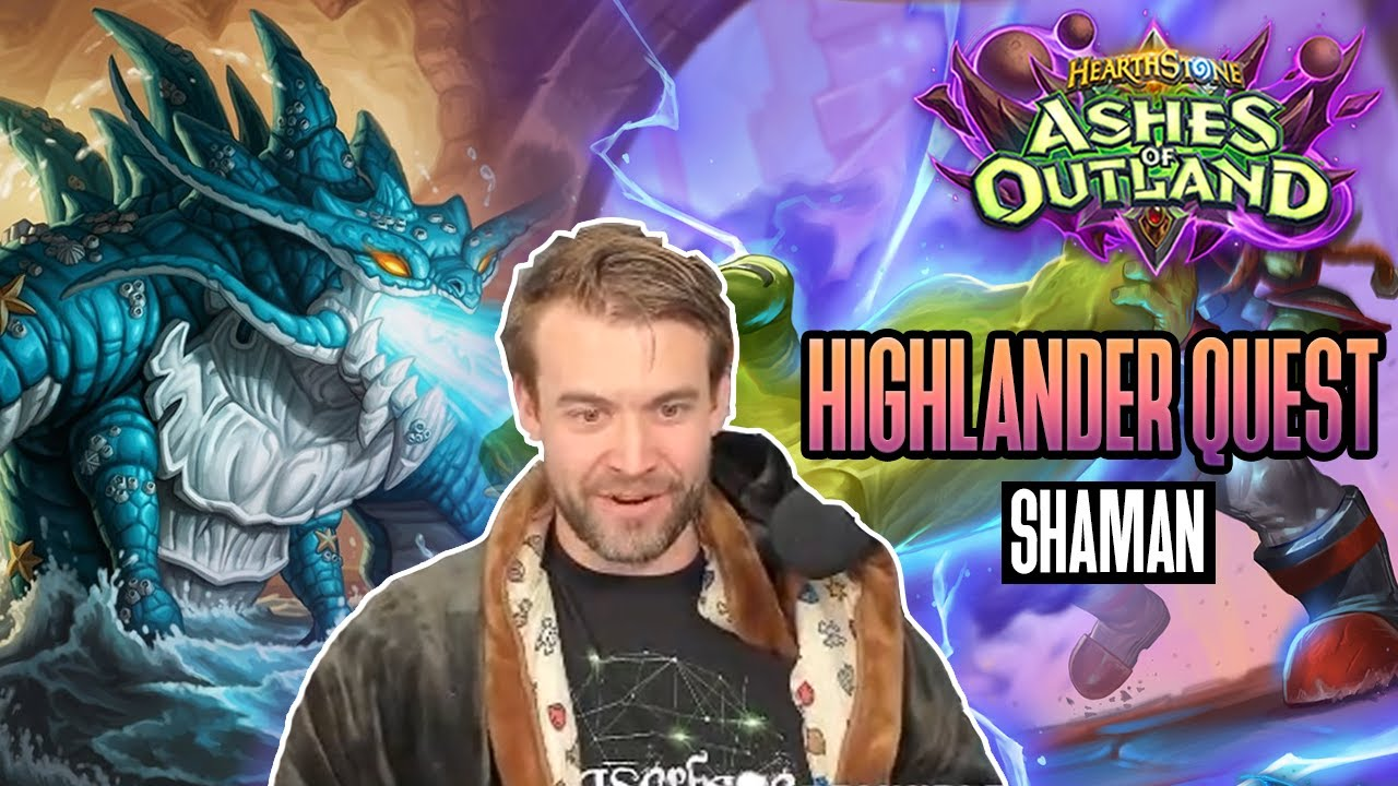 (Hearthstone) Highlander Quest Shaman in Ashes of Outland